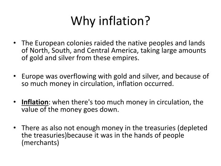 Why inflation?