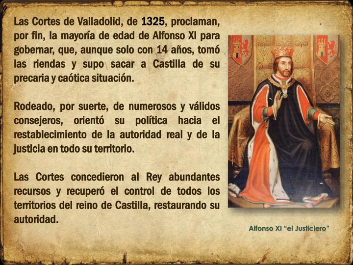 Las Cortes de Valladolid, de