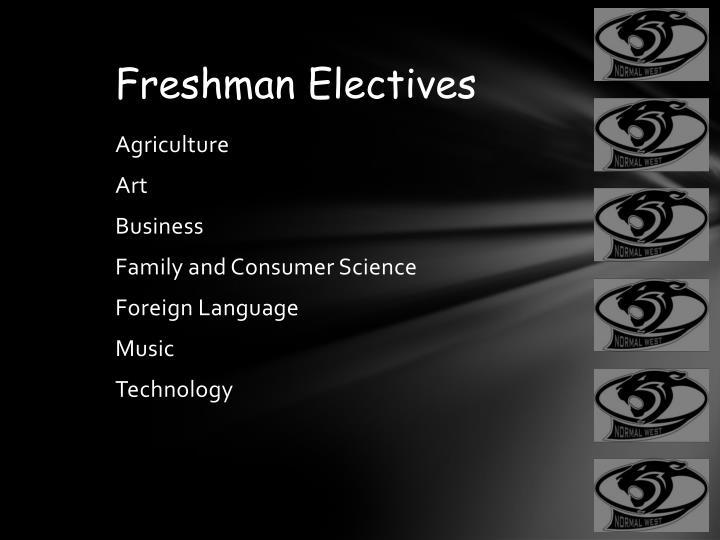 Freshman Electives
