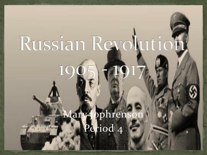 the cause of the russian revolution essay