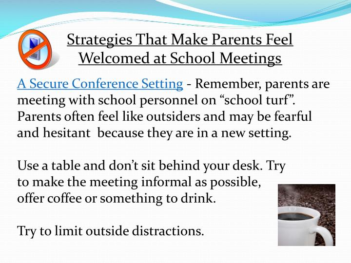 Strategies That Make Parents Feel