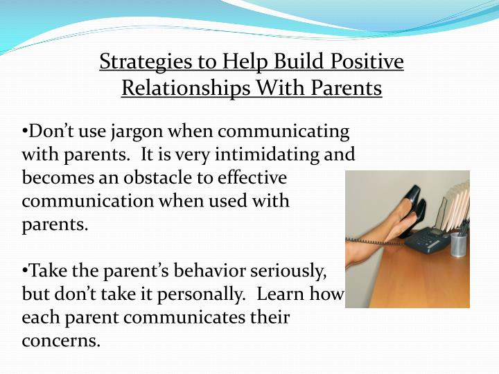 Strategies to Help Build Positive