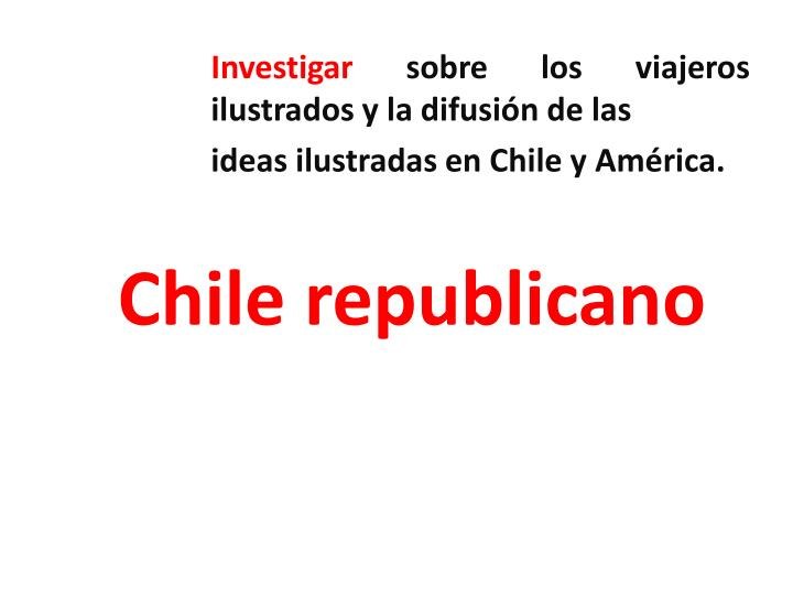 Chile republicano