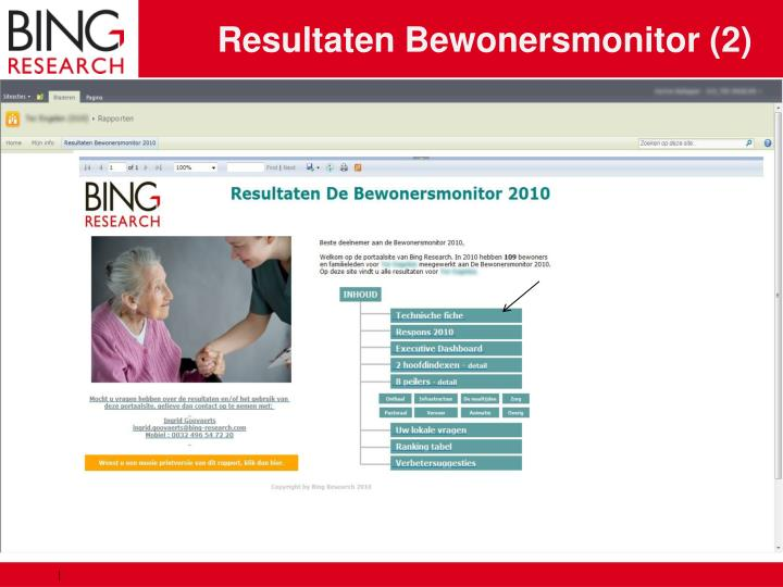 Resultaten Bewonersmonitor (2)