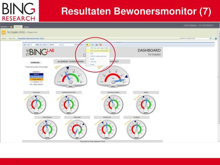 Resultaten Bewonersmonitor (7)