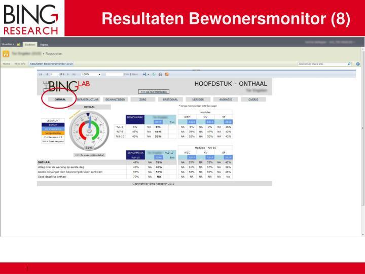 Resultaten Bewonersmonitor (8)