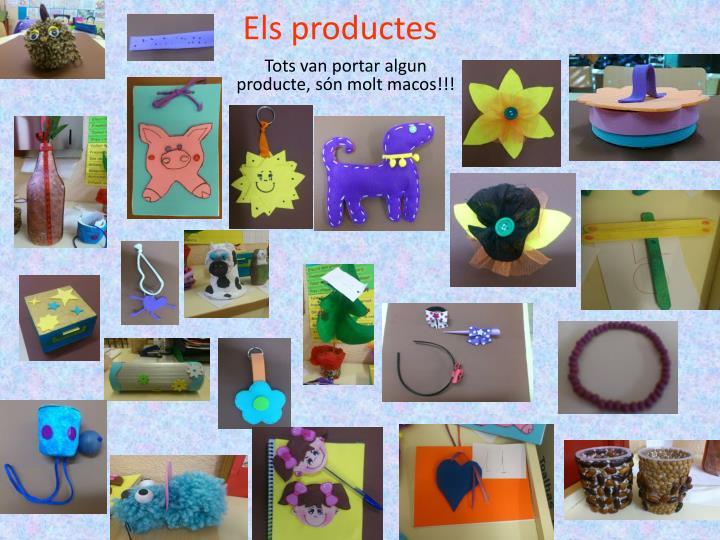 Els productes