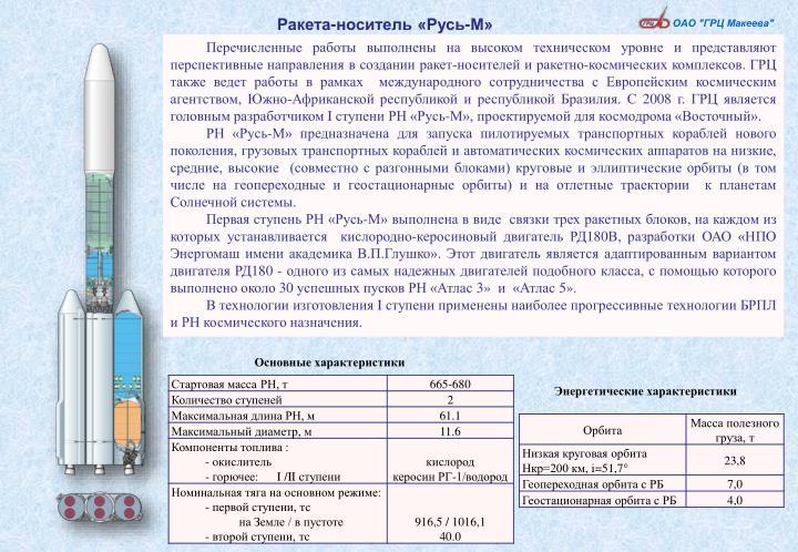 Ракета-носитель «Русь-М»