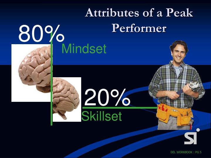 Attributes of a Peak Performer