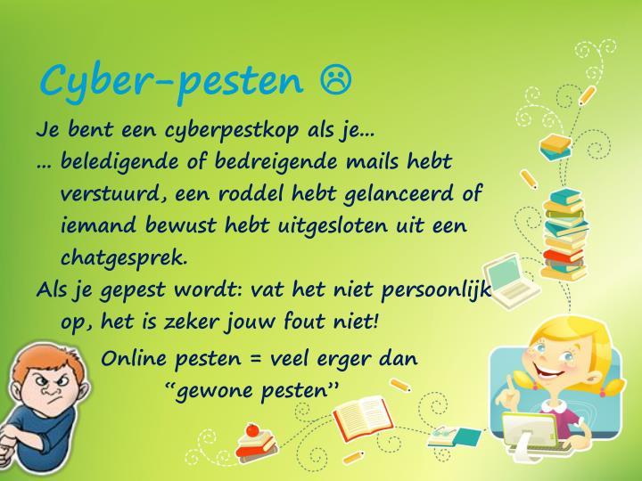 Cyber-pesten