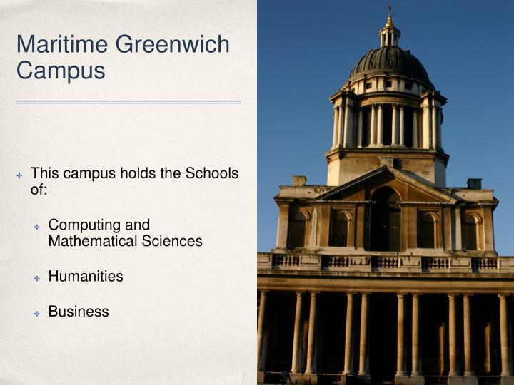 Maritime Greenwich Campus