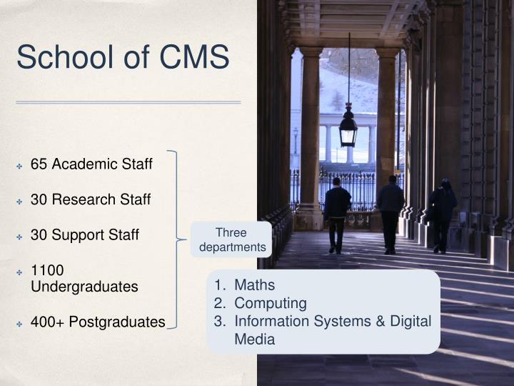 School of CMS
