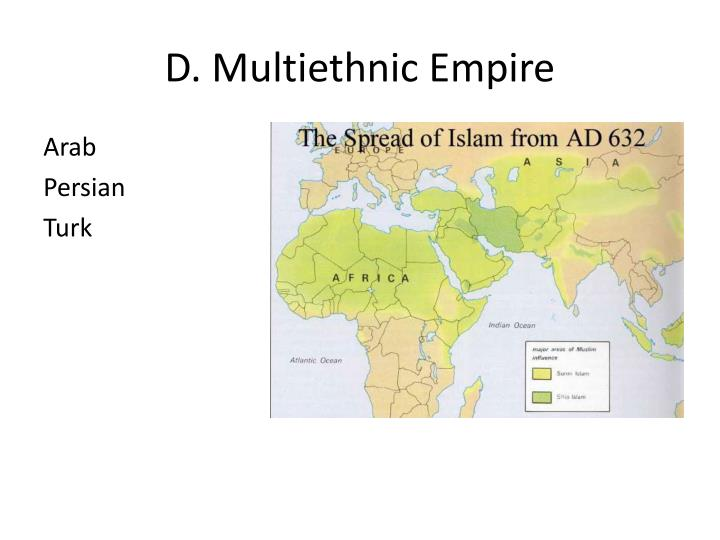 D. Multiethnic Empire