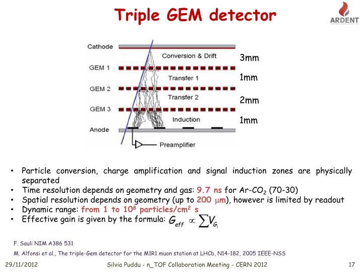 Triple GEM detector