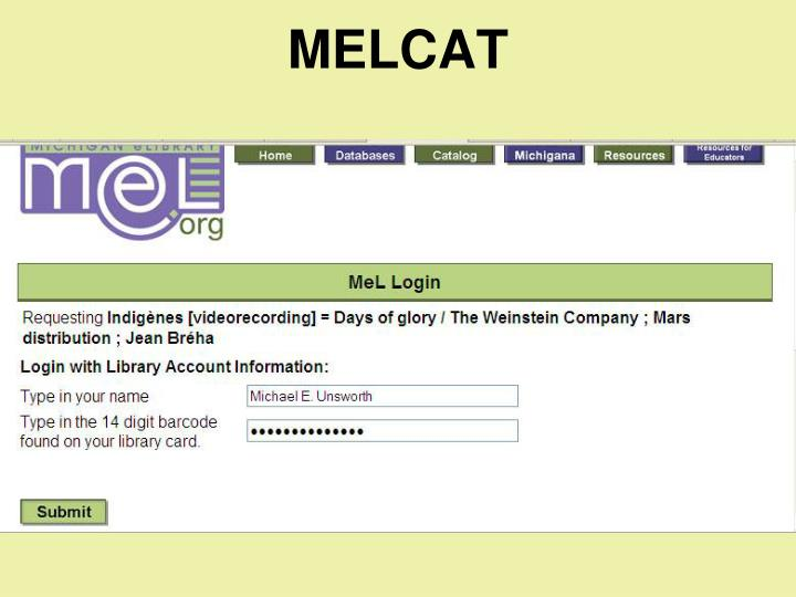 MELCAT