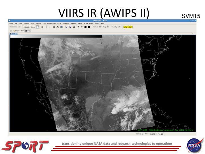 VIIRS IR (AWIPS II)