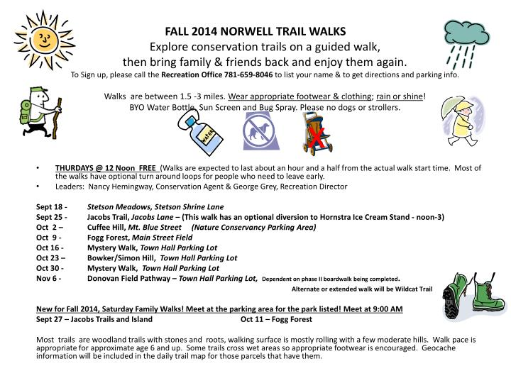 FALL 2014 NORWELL