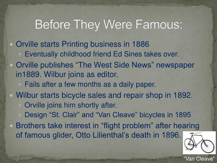 Before They Were Famous: