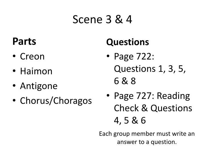 Scene 3 & 4