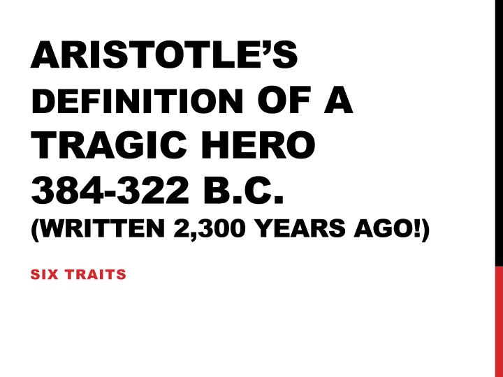 aristotles definition of the greek tragedy
