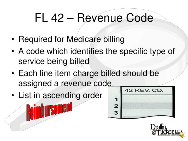 FL 42 – Revenue Code