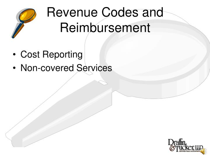 Revenue Codes and Reimbursement