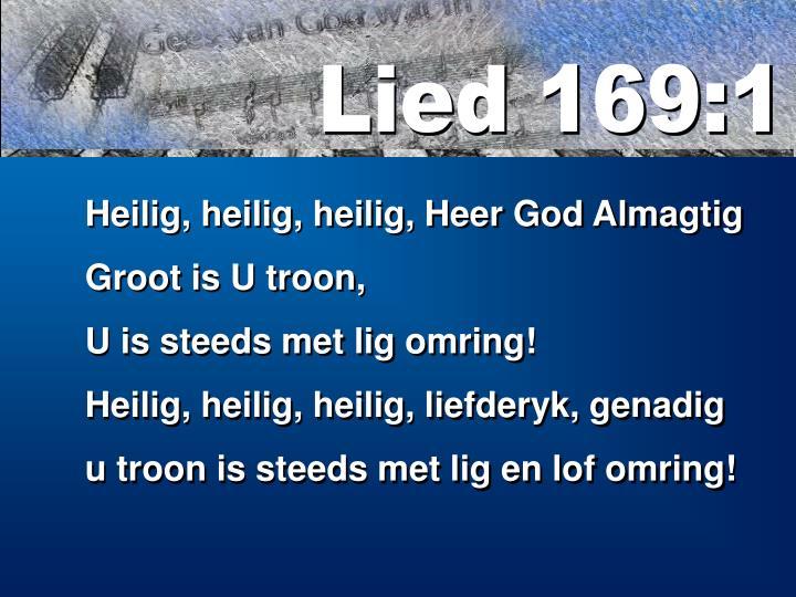 Lied 169:1