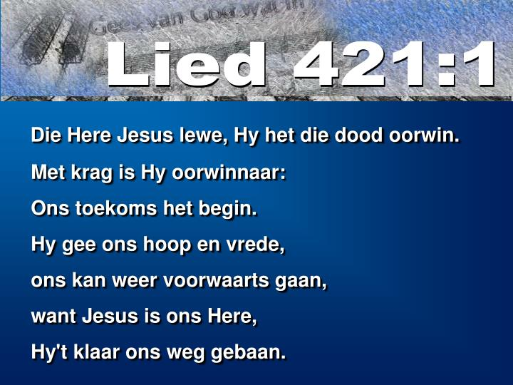 Lied 421:1
