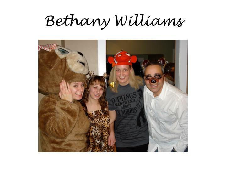 Bethany Williams