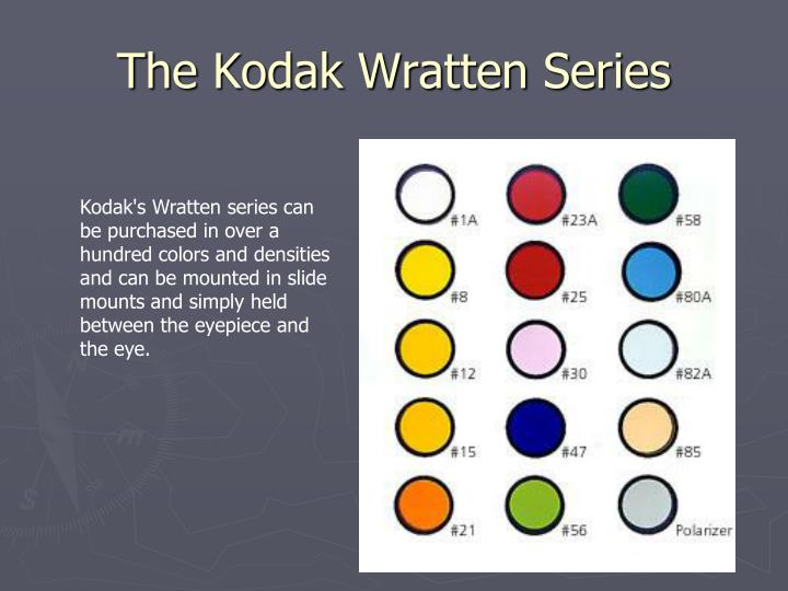 The Kodak Wratten Series