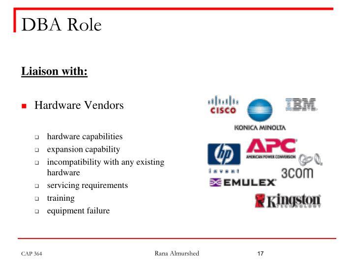 DBA Role