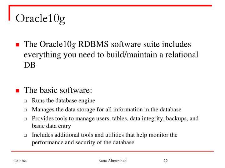 Oracle10g