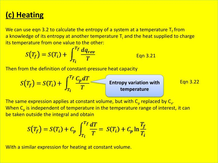 (c) Heating