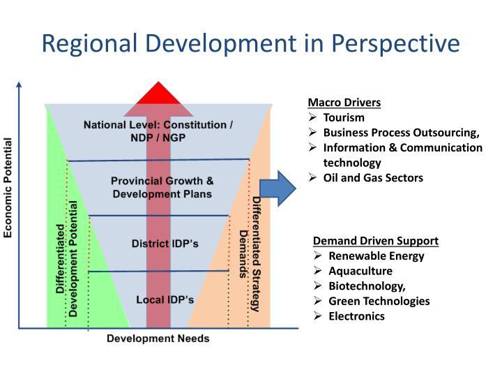 Regional Development in Perspective
