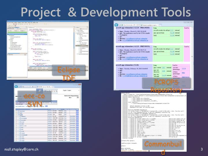 Project  & Development Tools