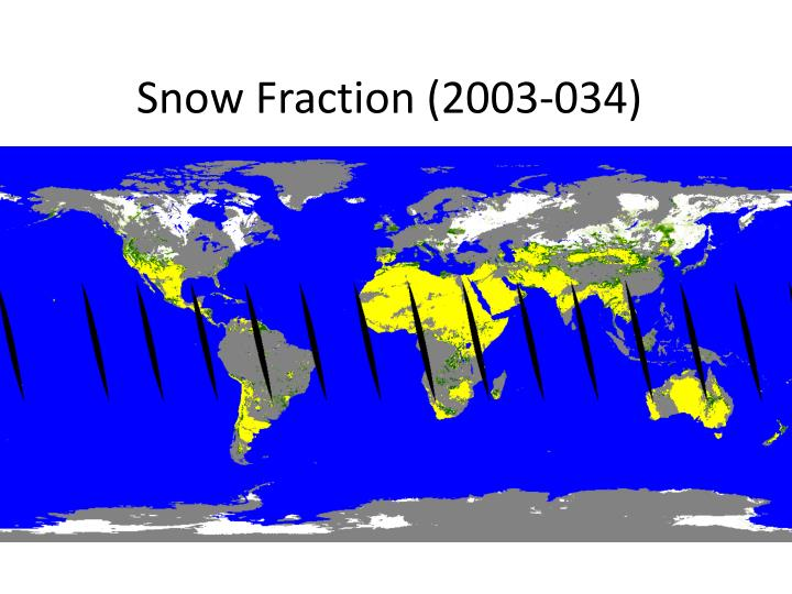 Snow Fraction (2003-034)
