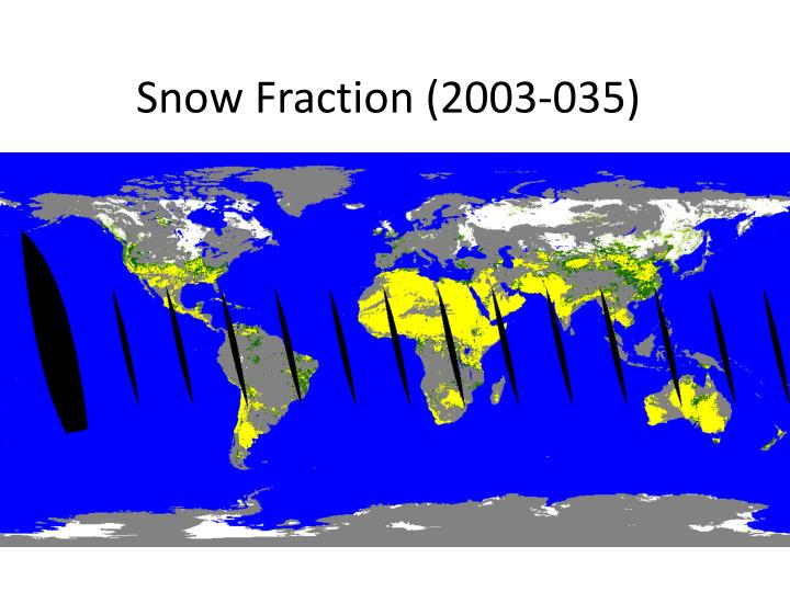 Snow Fraction (2003-035)