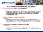 principios del accionar del regulador1