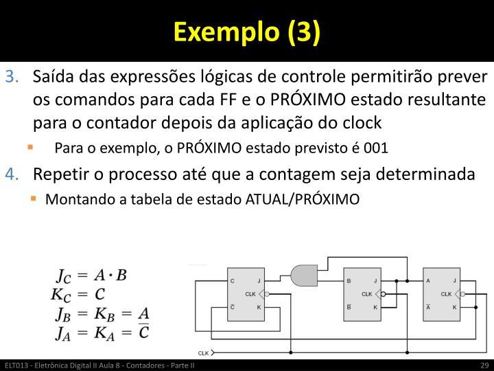 Exemplo (3)
