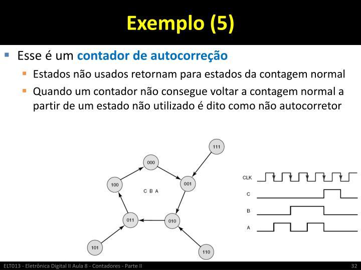 Exemplo (5)