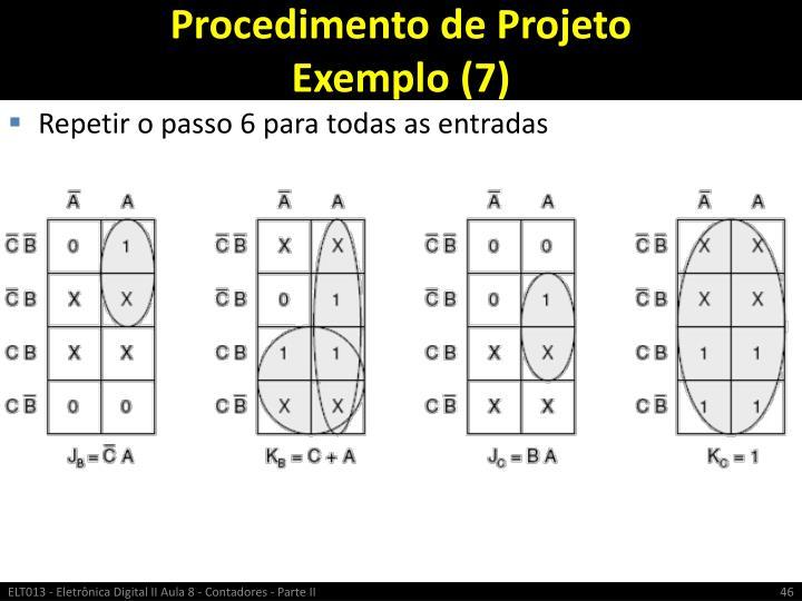 Procedimento de Projeto