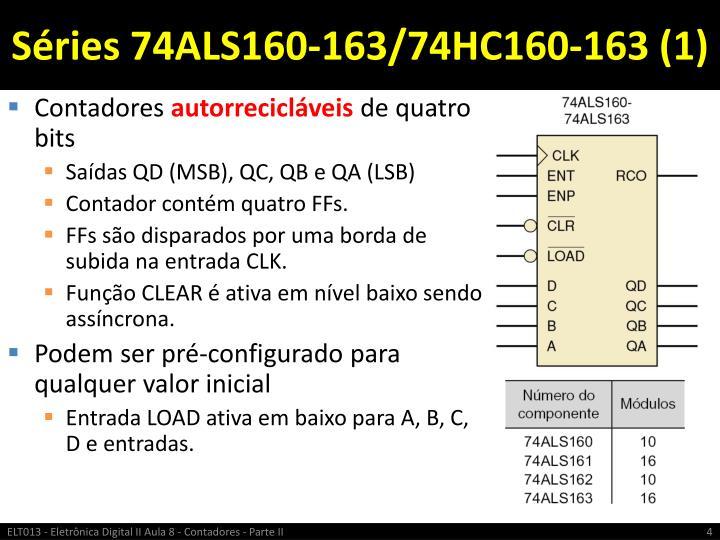 Séries 74ALS160-163/74HC160-163 (1)