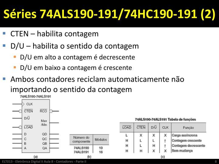 Séries 74ALS190-191/74HC190-191 (2)