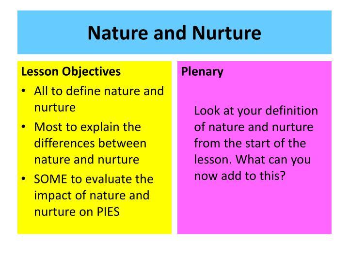 nature vs nurture crime and delinquency essay Research essay sample on nature vs nurture custom essay writing.