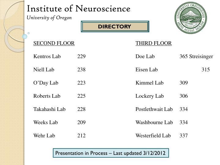 Institute of Neuroscience