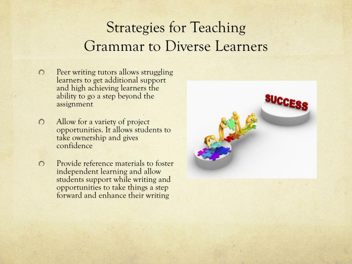 Strategies for Teaching