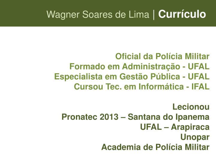 Wagner Soares de Lima