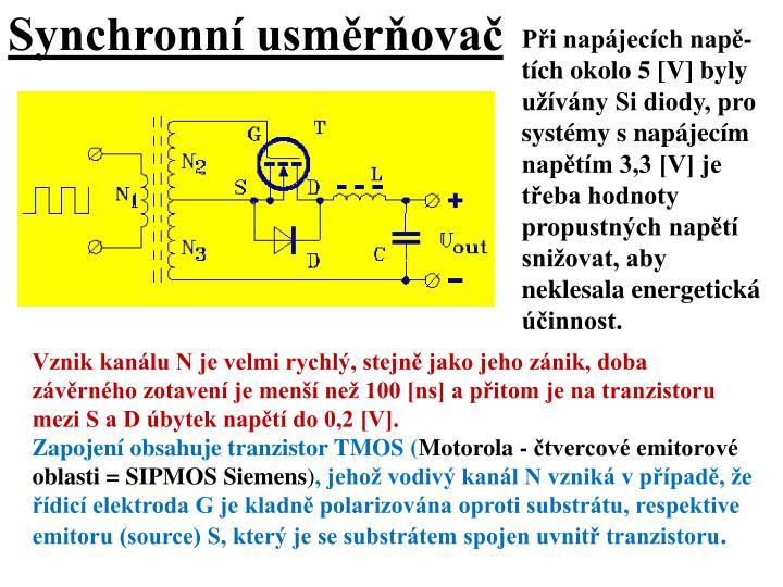 Synchronní usměrňovač