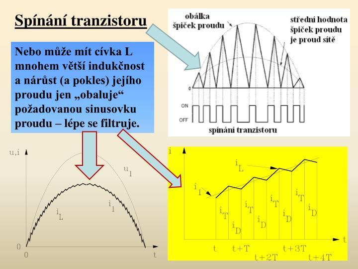 Spnn tranzistoru
