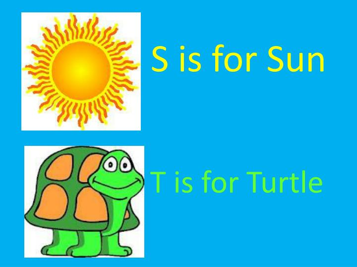 S is for Sun